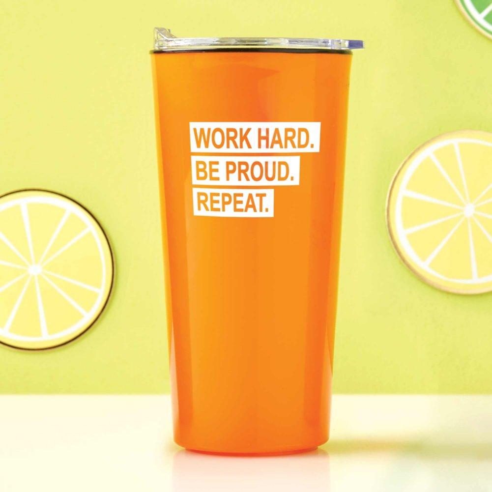 View larger image of Road Trip Travel Mug - Work Hard