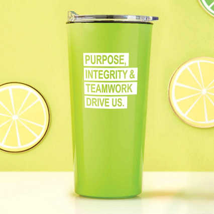 Road Trip Travel Mug - Purpose, Integrity & Teamwork