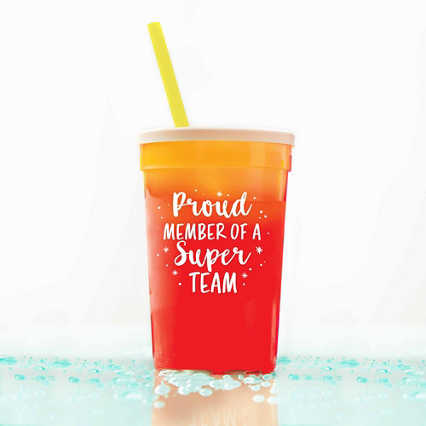 Stadium Color Changing Cup - Proud Member