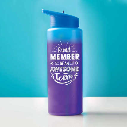 Good Mood Color Changing Water Bottle - Proud Member