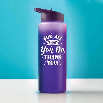 Good Mood Color Changing Water Bottle - All That You Do