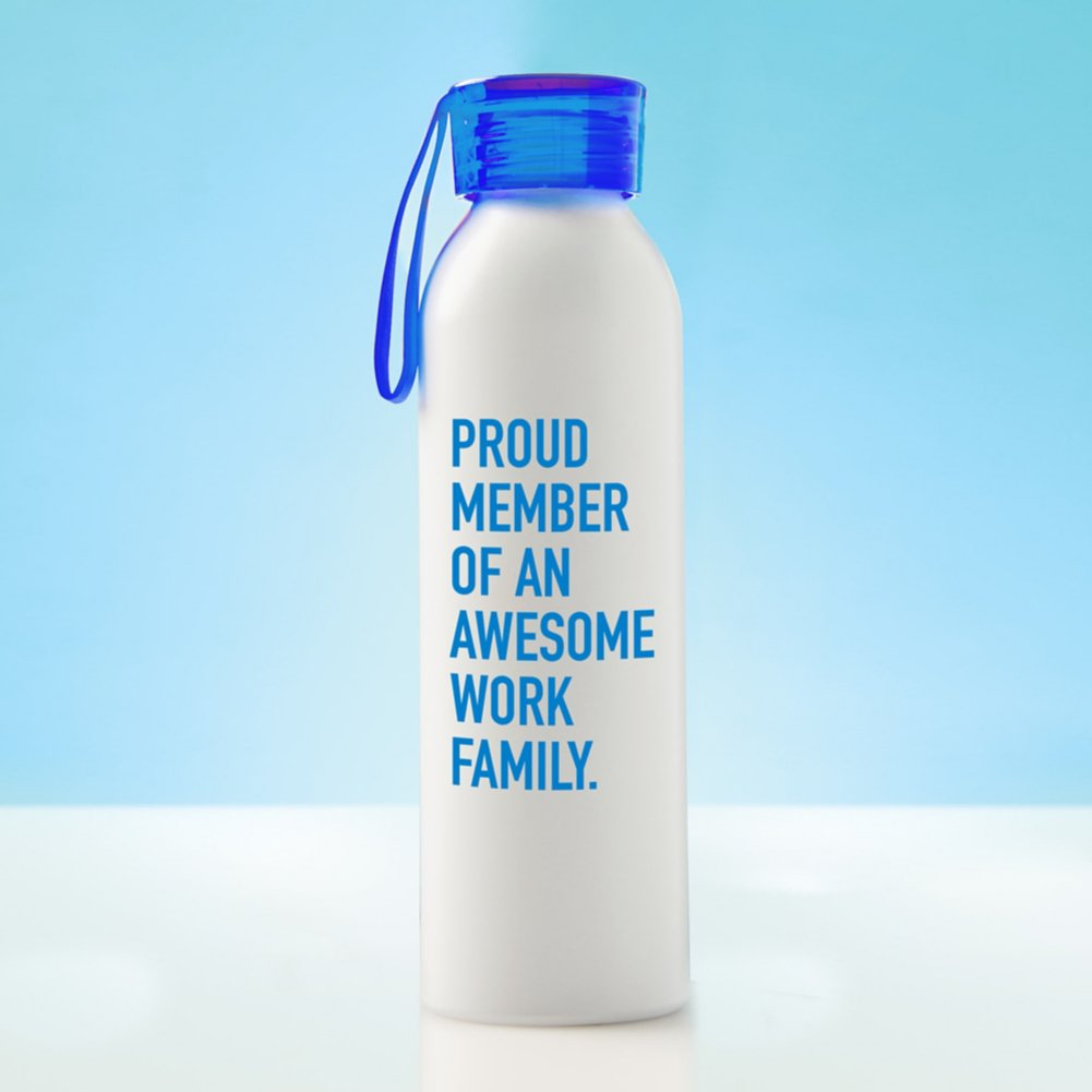 View larger image of Color Splash Aluminum Water Bottle - Proud Member