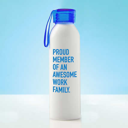 Color Splash Aluminum Water Bottle - Proud Member