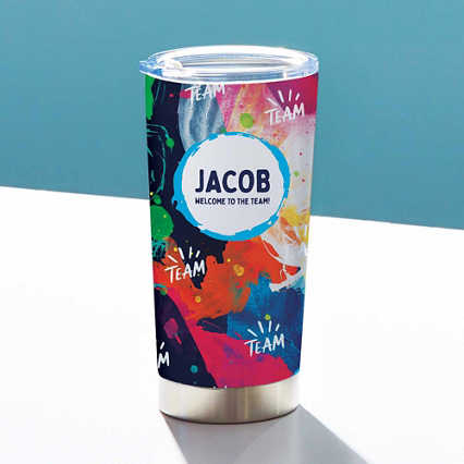 Early Mornings 20oz Tumbler - Personalized