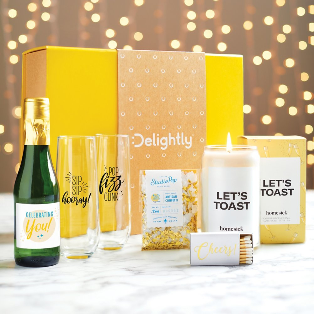 View larger image of Delightly: A Toast to You Kit