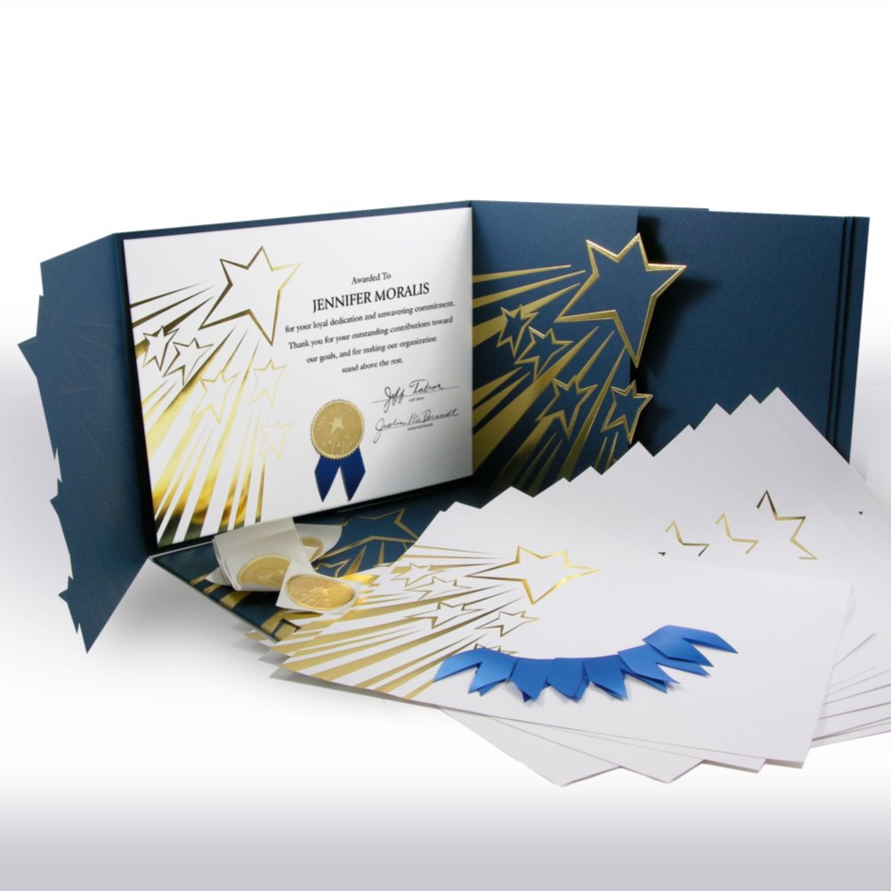 View larger image of Certificate Paper Bundle - Shooting Stars