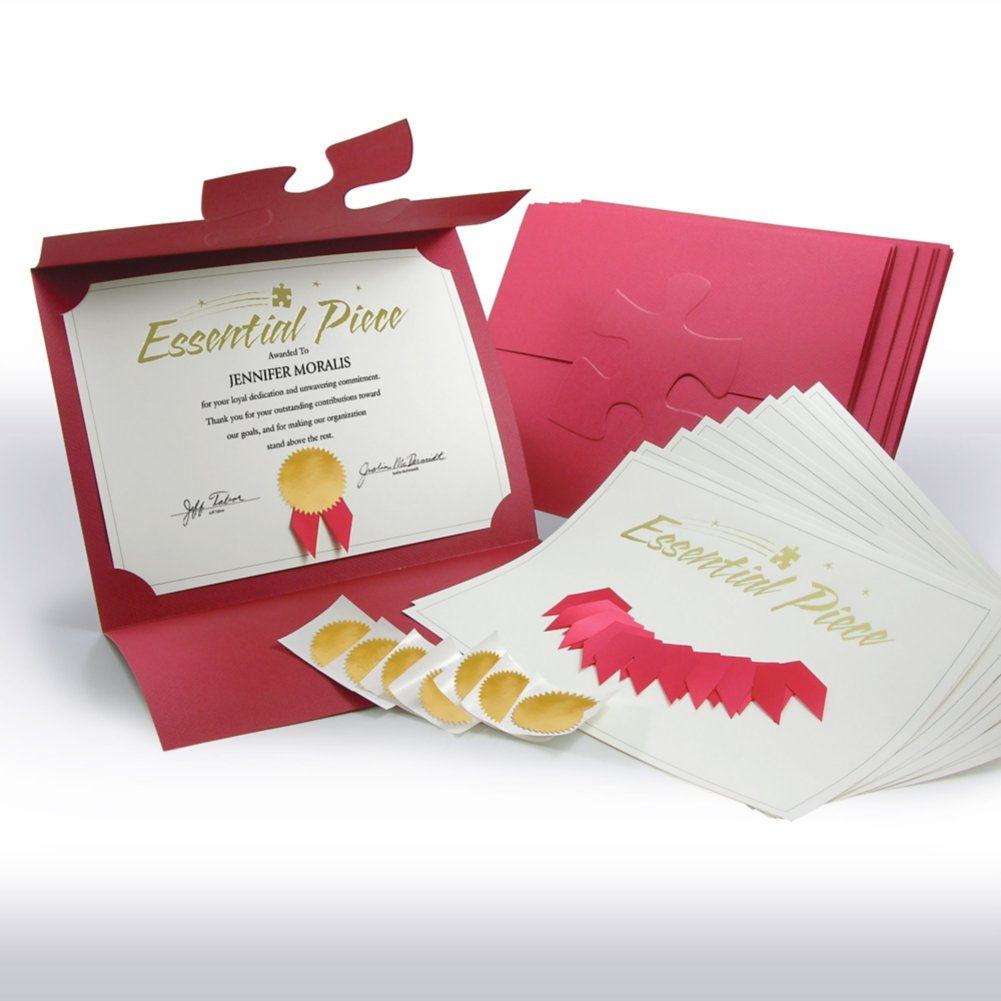 View larger image of Certificate Paper Bundle - Essential Piece