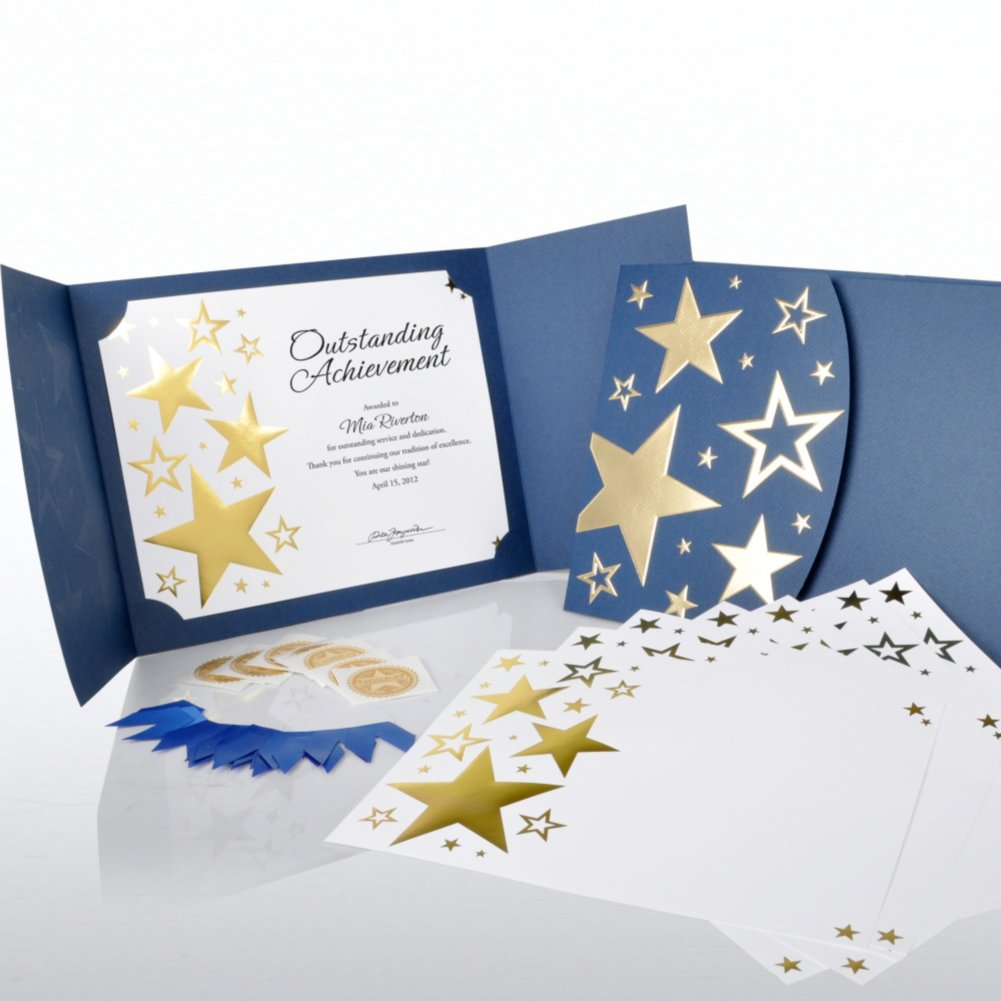 View larger image of Certificate Paper Bundle - Bright Stars Bundle