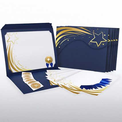 Certificate Paper Bundle - Radiant Shooting Star