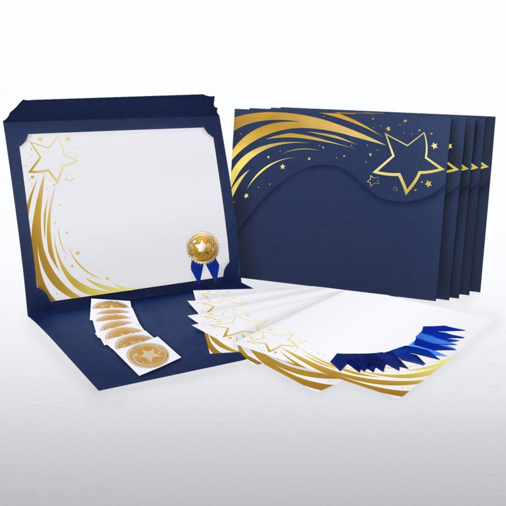 Certificate Paper Bundle - Radiant Shooting Star