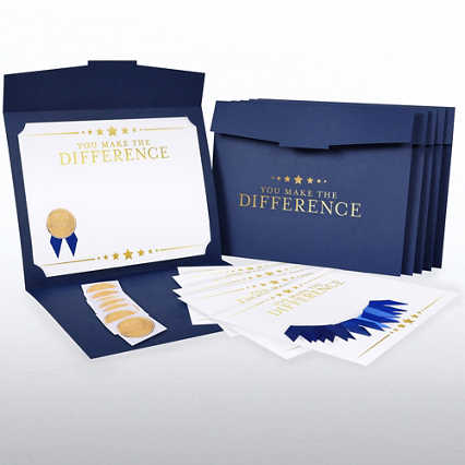 Certificate Paper Bundle - Making a Difference Stars