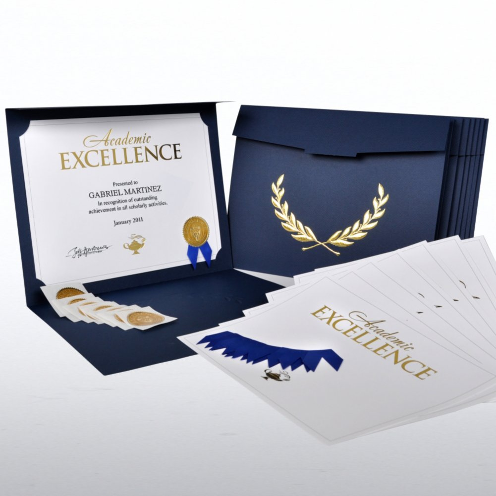 View larger image of Certificate Paper Bundle - Academic Excellence