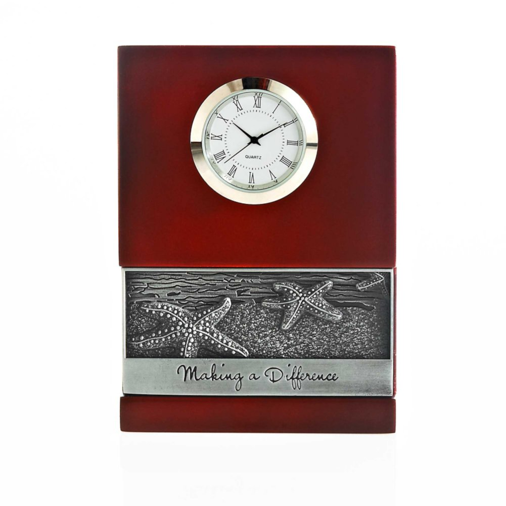 View larger image of Character Impression Clock - Starfish: Making a Difference
