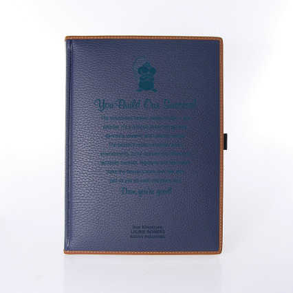 Italian Textured Leatherette Journal