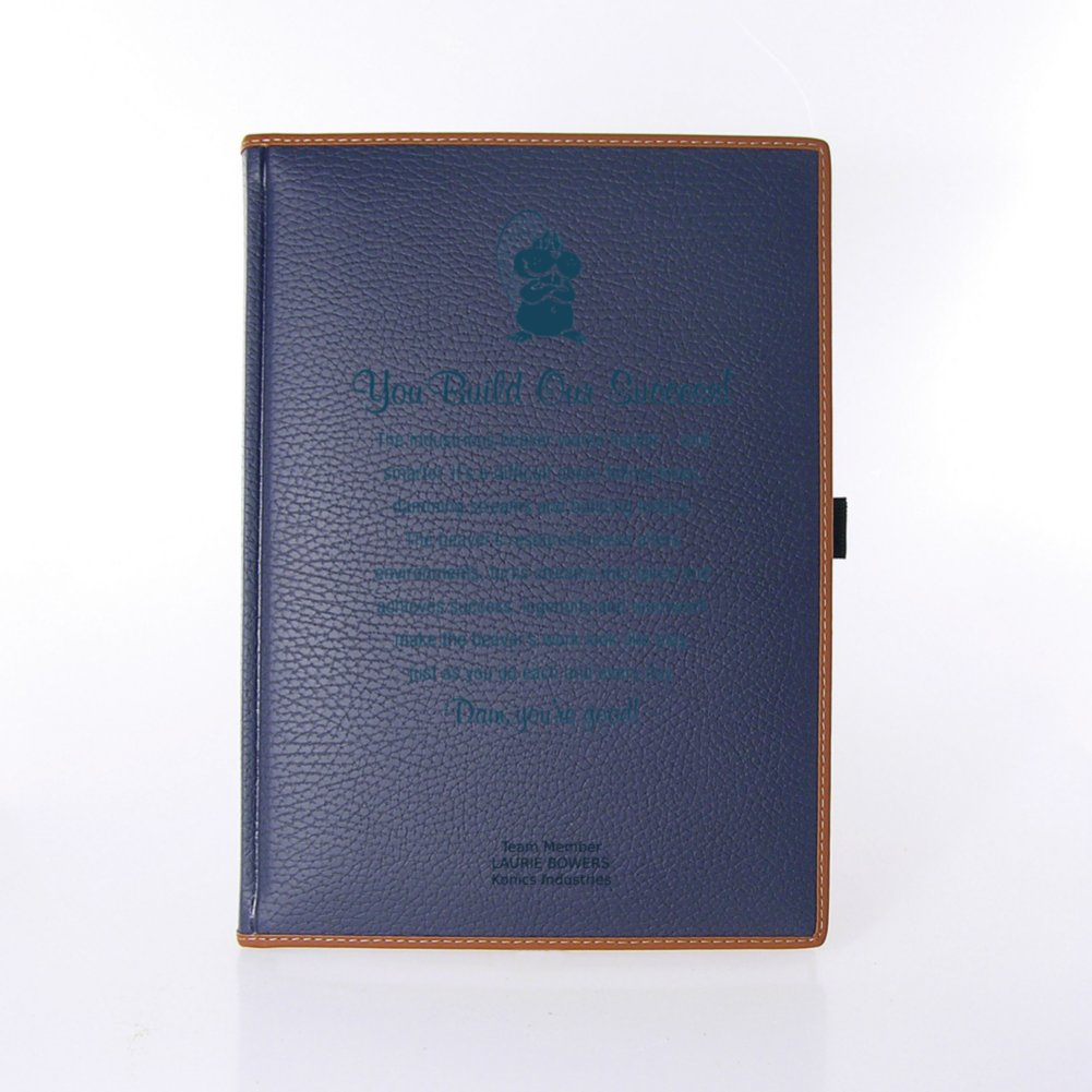 View larger image of Italian Textured Leatherette Journal