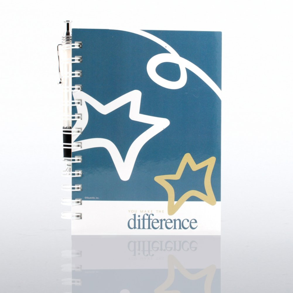 View larger image of Journal & Pen Gift Set - You Make the Difference