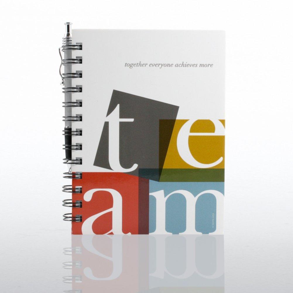Journal & Pen Gift Set - TEAM