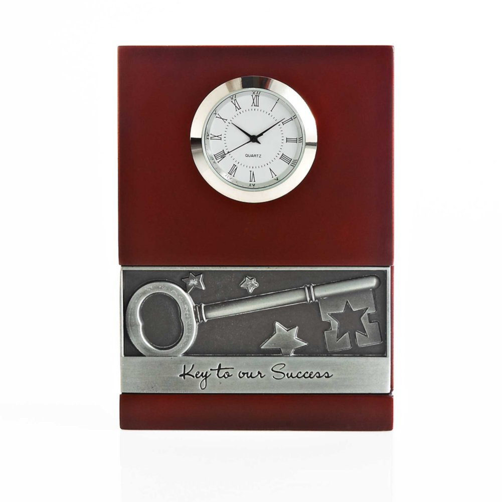 View larger image of Character Impression Clock - Key to Success