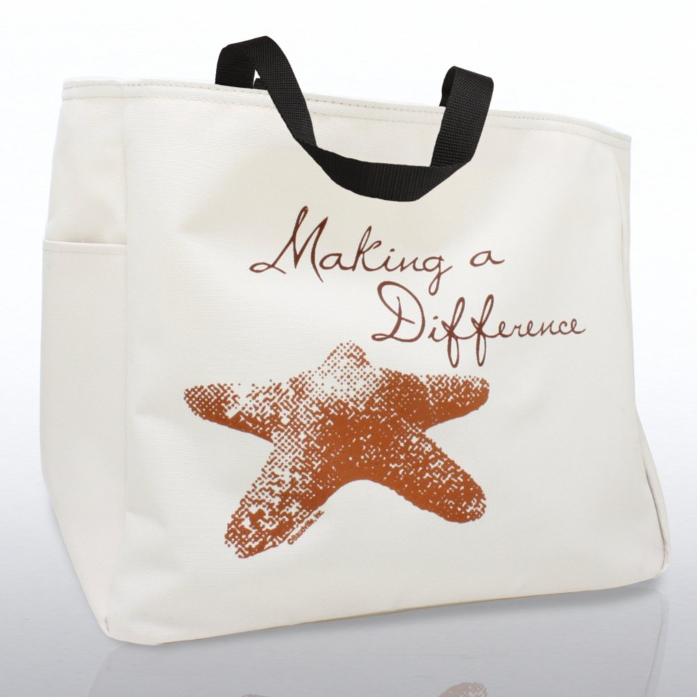 View larger image of Tote Bag - Starfish: Making a Difference