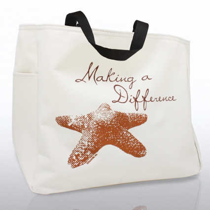 Tote Bag - Starfish: Making a Difference