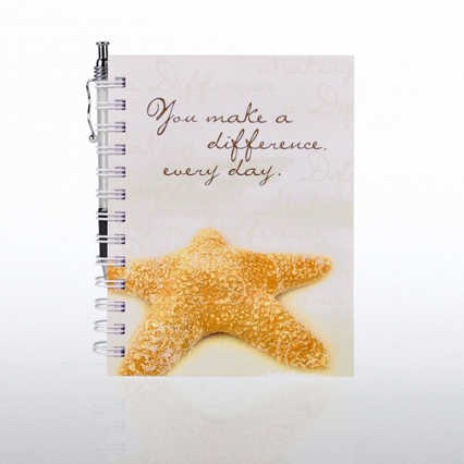 Journal & Pen Gift Set - Starfish: Making a Difference