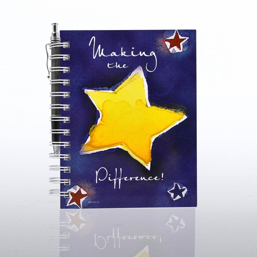 View larger image of Journal & Pen Gift Set - Making the Difference