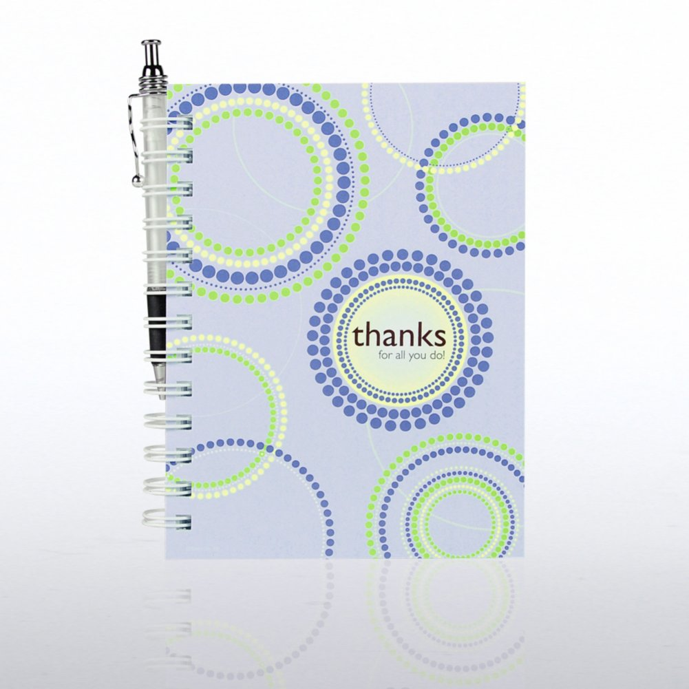 View larger image of Journal & Pen Gift Set - Thanks for All You Do!