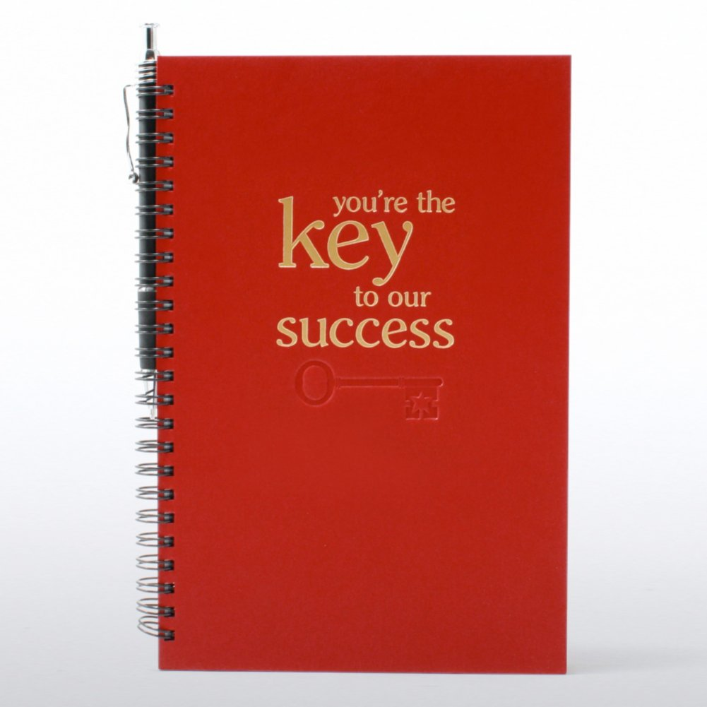 View larger image of Foil-Stamped Journal & Pen Gift Set - Key to Success