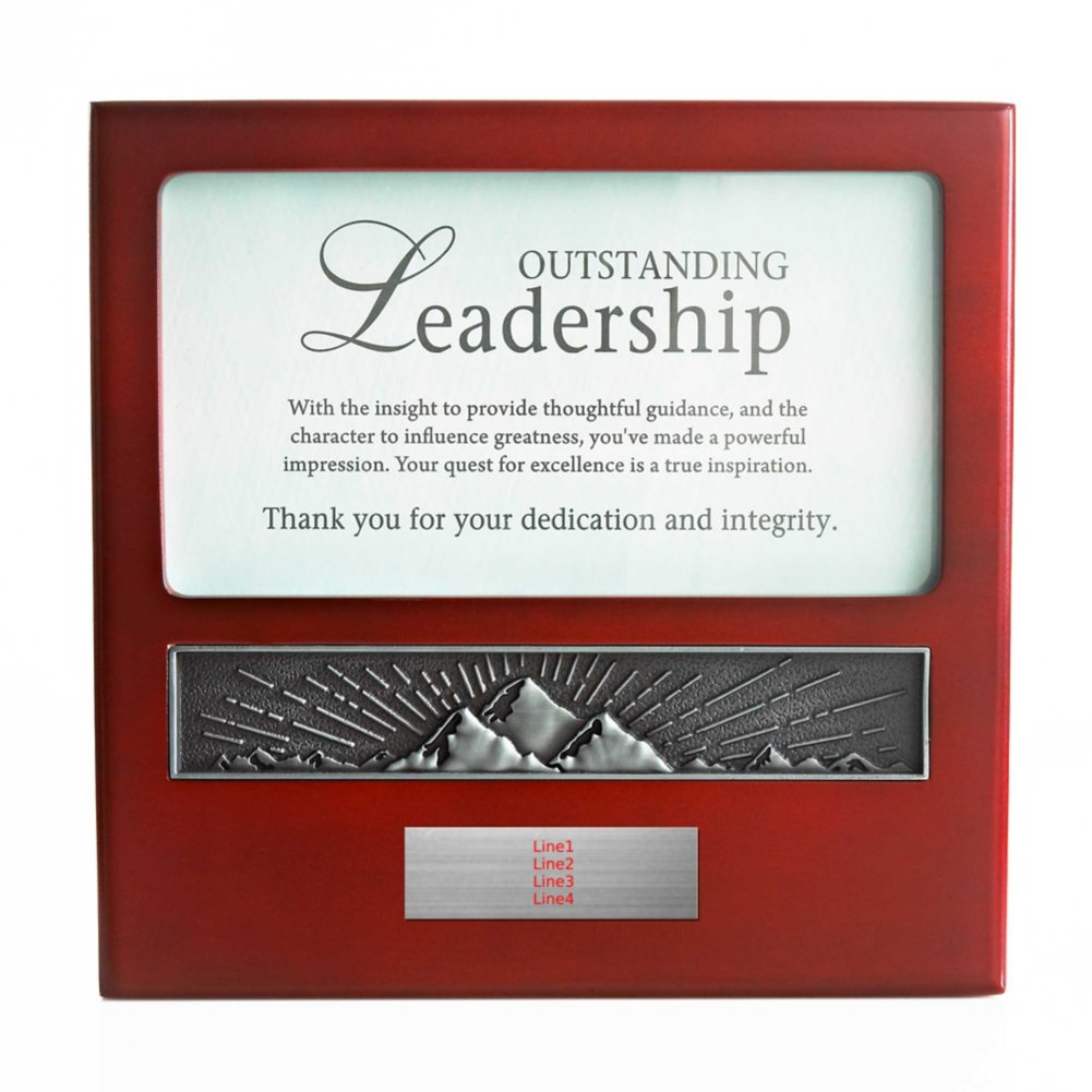 View larger image of Character Impressions Trophy - Outstanding Leadership