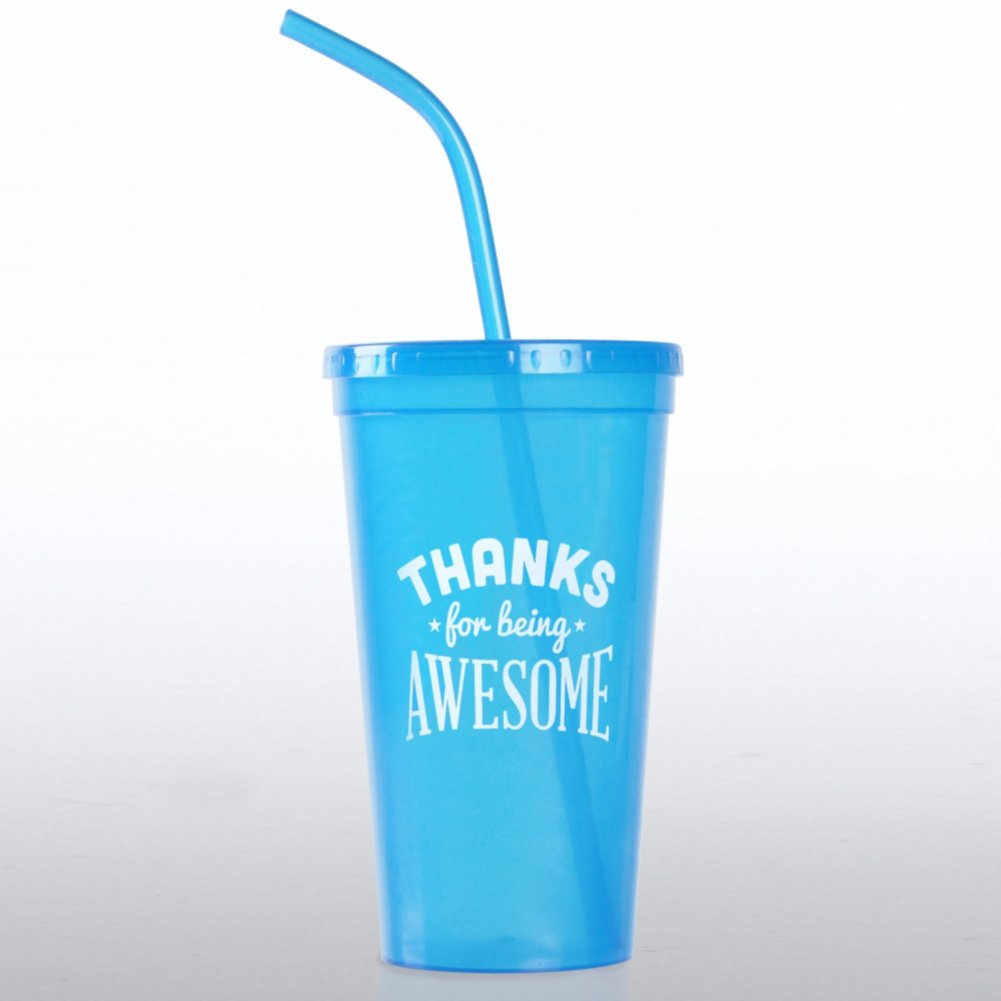 View larger image of Value Tumbler - Thanks for Being Awesome