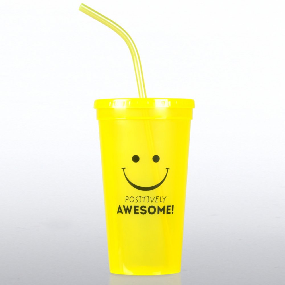 View larger image of Value Tumbler - Positively Awesome