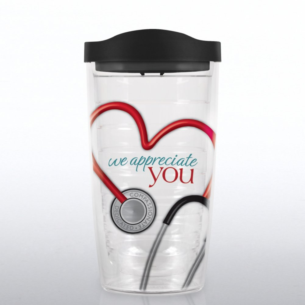 View larger image of Tervis Tumbler - Stethoscope: We Appreciate You