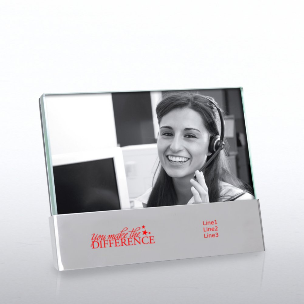 Jade with Metal Photo Frame