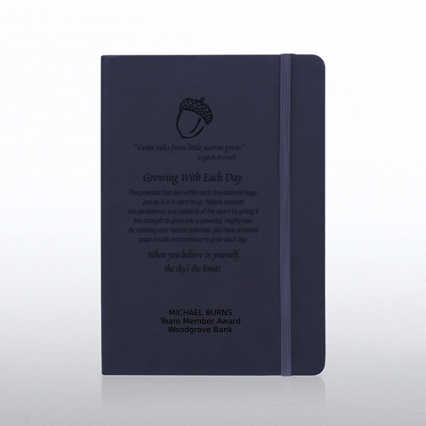 Tuscany Engraved Journal - Navy
