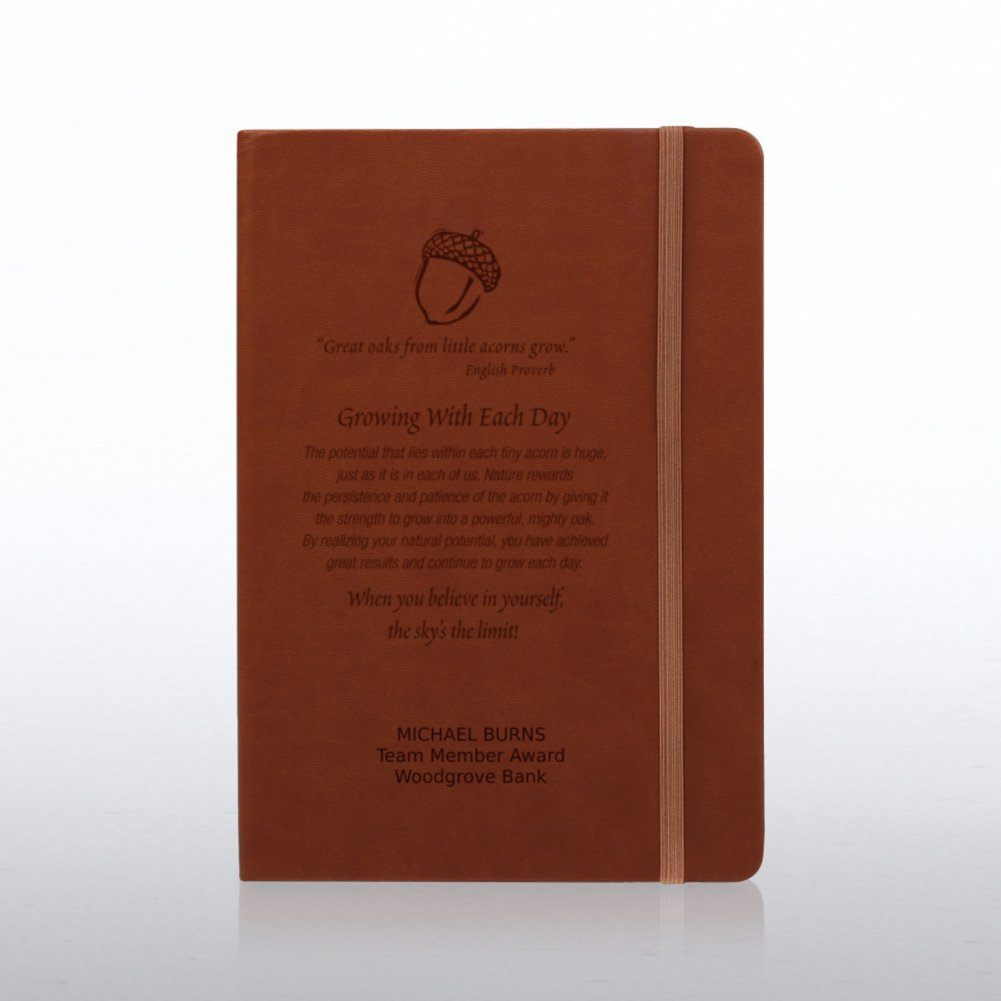 View larger image of Tuscany Engraved Journal - Tan