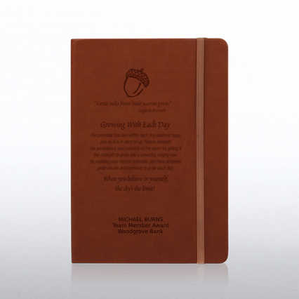 Tuscany Engraved Journal - Tan