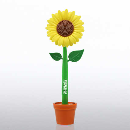 Flower-in-a-Pot Pen - You Make a Difference