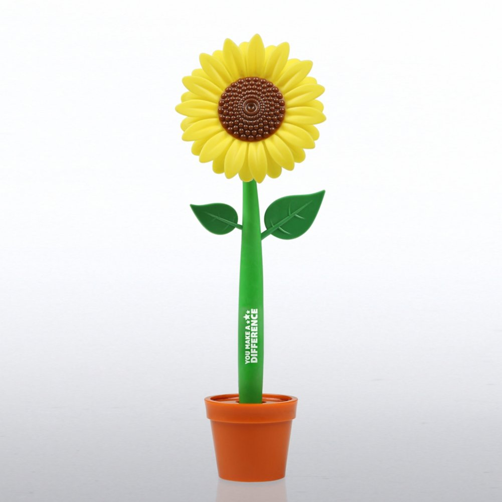View larger image of Flower-in-a-Pot Pen - You Make a Difference