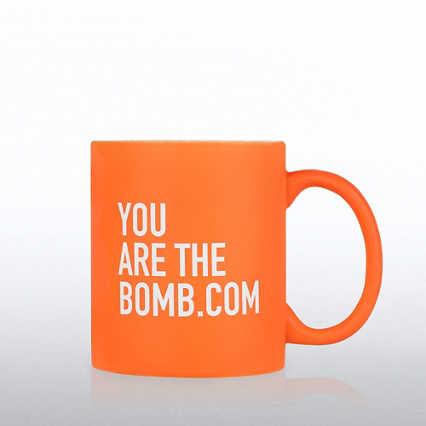 Neon Ceramic Mug - You are the Bomb.com