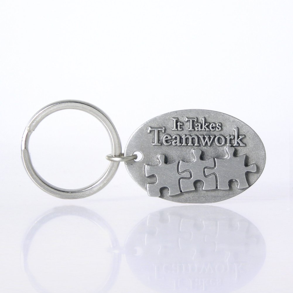 View larger image of Character Key Chain - It Takes Teamwork