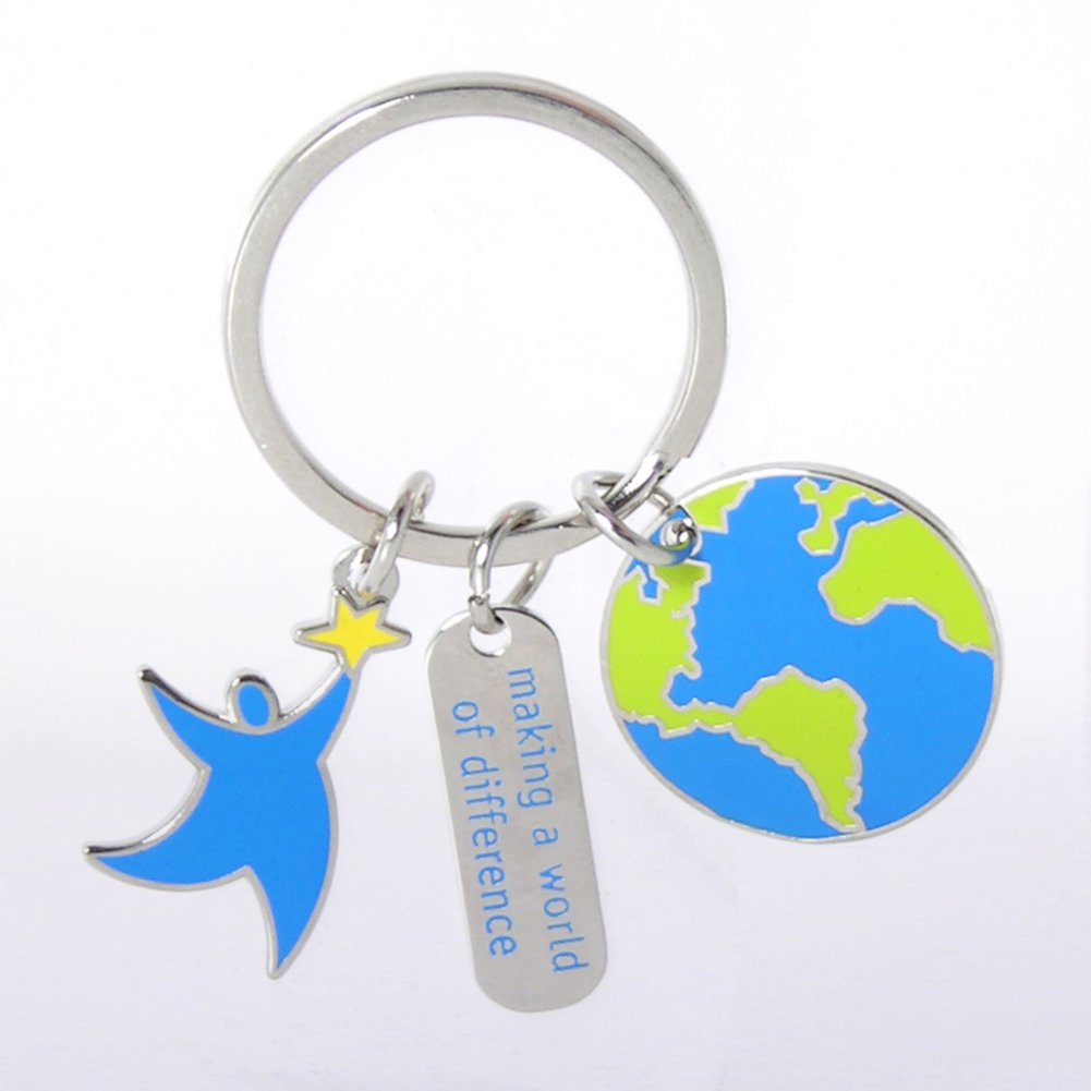 Simply Charming Key Chain - Making a World of Difference