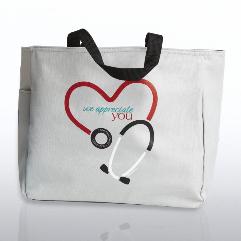 View larger image of Tote Bag - Stethoscope: We Appreciate You