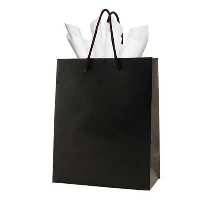 Gift Bag - Medium (8 x 4 x 10) - Black