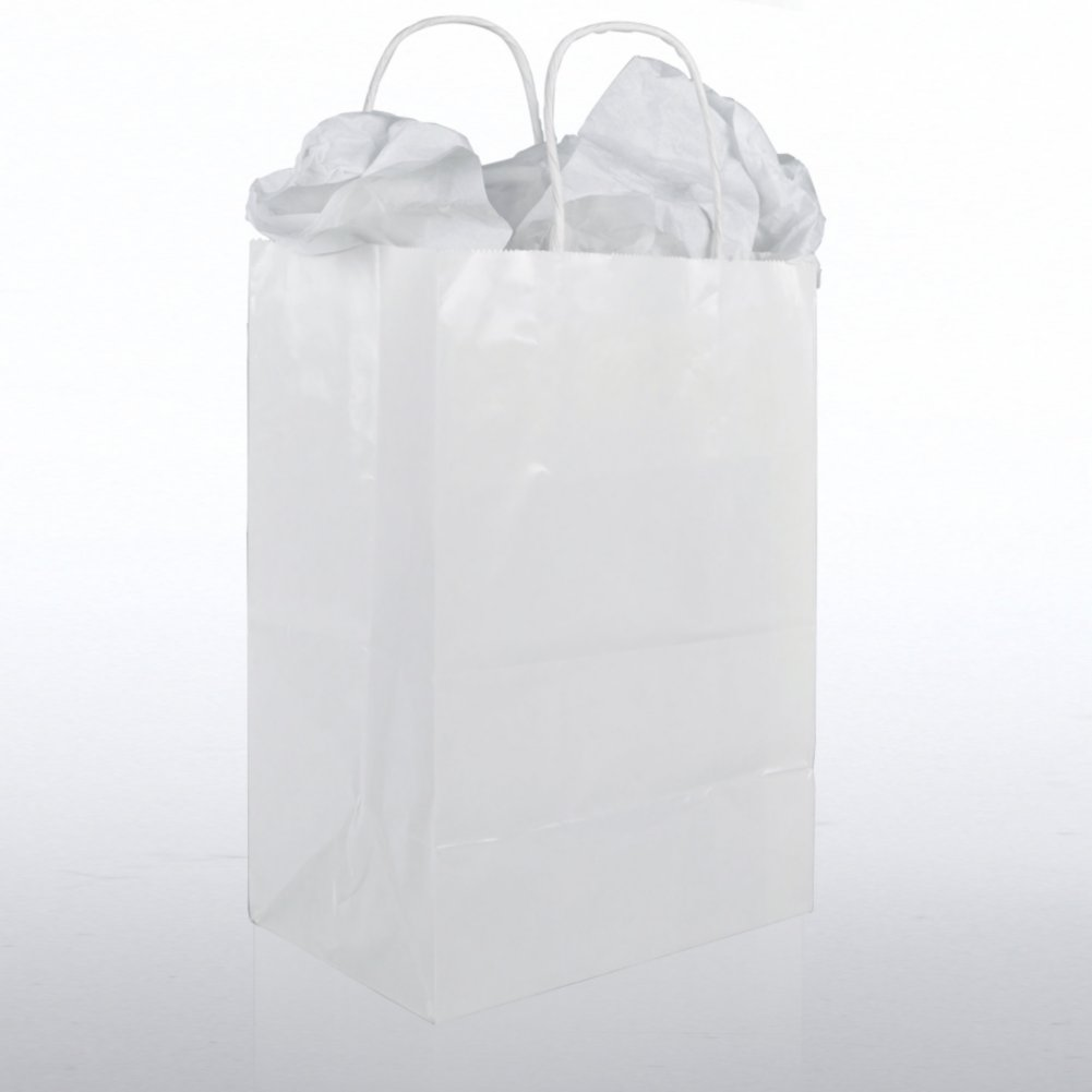 View larger image of Gift Bag Pack - White