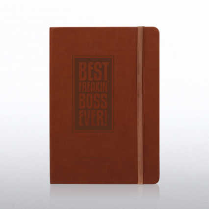 Boss Tuscany  Engraved Journal - Tan