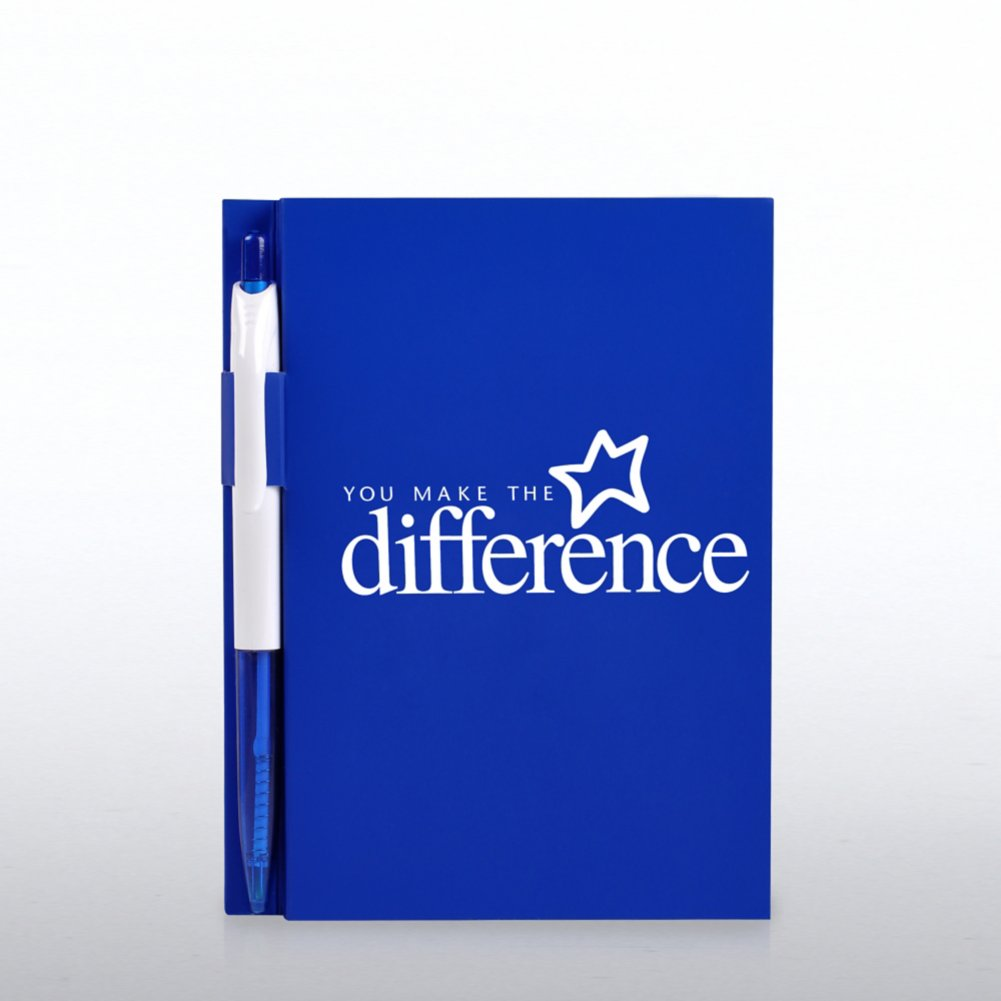 View larger image of Value Journal & Pen Gift Set - You Make the Difference