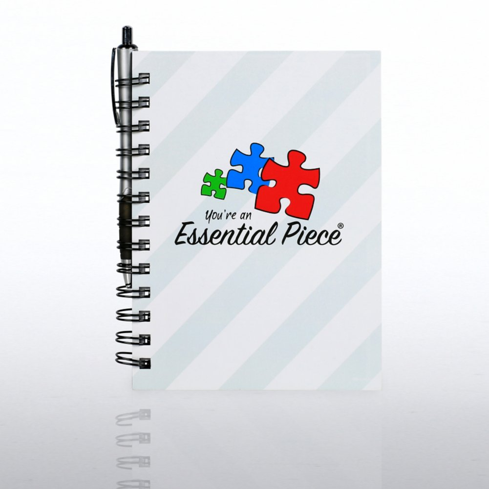 View larger image of Journal & Pen Gift Set - Contemporary Essential Piece