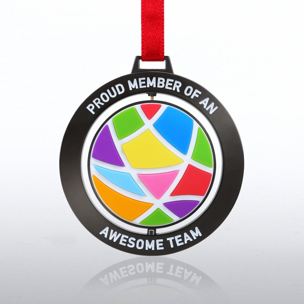 View larger image of Spinner Ornament: Proud Member of an Awesome Team