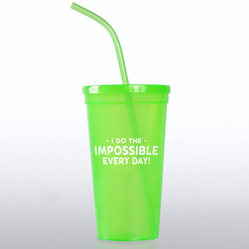 View larger image of Value Tumbler - I Do The Impossible Every Day