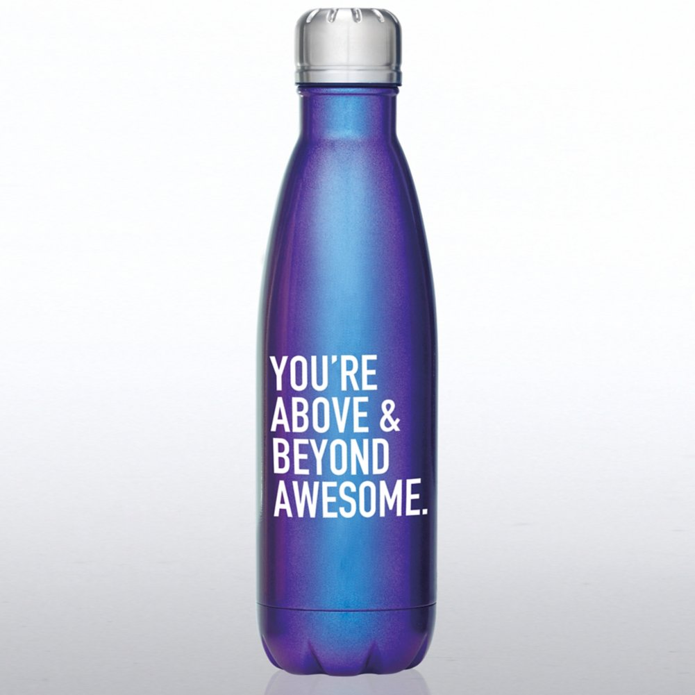 View larger image of Iridescent Bowie Water Bottle - Above and Beyond Awesome